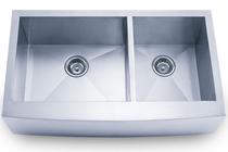 RBP-HA125 Double Bowl Undermount Handmade Sink