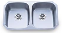 RBP-802ADA Double bowl Undermount Kitchen Sink