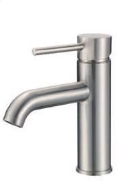 RBP Single Hole Bathroom Faucet Brushed Nickel
