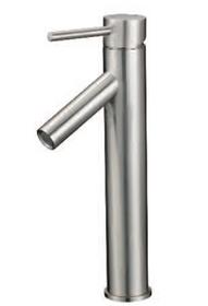 Jade Single Hole Bathroom Faucet Brushed Nickel