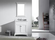 Royal Boca 30 inch White Bathroom Vanity