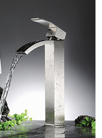Nimo Tall Single Handle Faucet Brushed Nickel