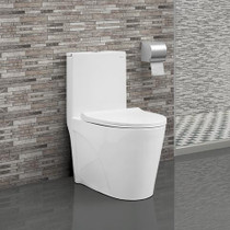 Crown Ever Clean Dual Flush Toilet