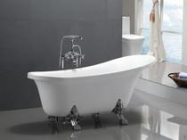 """Dixie 63"""" Claw foot Freestanding Bath Tub"""