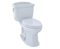 Toto Eco Dartmouth® Two-Piece Toilet, 1.28 GPF, Elongated Bowl in Cotton