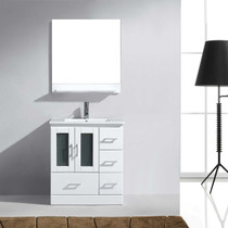 "Pompano 36"" White Bathroom Vanity"