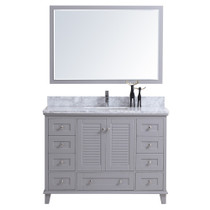 "Keyes 48""Gray Bathroom Vanity"