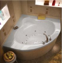 Alexandria Acrylic, Drop-in Corner Tub Soaker