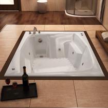Caresse Acrylic, Drop-in Corner Tub Soaker
