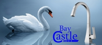 Castle Bay Swan Pullout Kitchen Faucet Stainless Steel