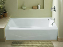"""Kohler Villager® 60"""" X 30"""" Alcove Bath With Integral Apron And right-Hand Drain"""