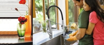 Castle Bay Viva Diva Pull Out Kitchen Faucet Stainless Steel