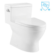 Crown Jewel Single Flush One Piece Toilet