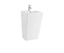 Lily  White Pedestal Basin