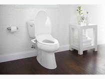 Kohler Puretide® manual cleansing toilet seat, elongated White