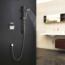 Royal Windsor One-Way Shower System w/ Slide Bar & Handheld in Chrome