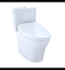 Toto Aquia® IV 1G - WASHLET®+ S500e 2-Piece Toilet - 1.0 GPF & 0.8 GPF - Universal Height