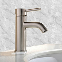 Lily Single Lever Basin Faucet Brushed Nickel