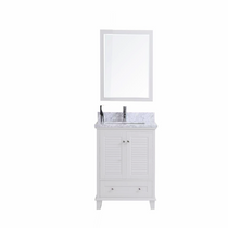 "Keyes 24"" White Bathroom Vanity"