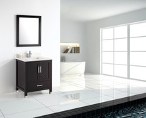 Palmera 24 inchEspresso Bathroom Vanity