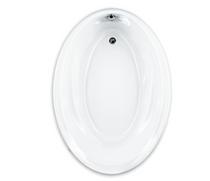 American Standard Savona 60 Inch by 42 Inch Oval Bathtub White