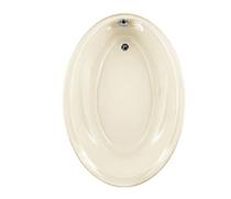 American Standard Savona 60 Inch by 42 Inch Oval Bathtub Linen