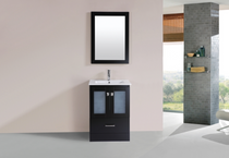 "Pompano 24"" Espresso Bathroom Vanity"