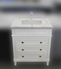 """Ibis 24"""" White Bathroom Vanity"""
