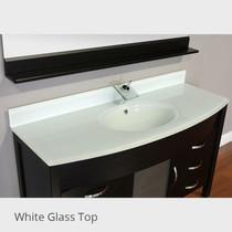Juno  60 inch Espresso Single Sink Bathroom Vanity