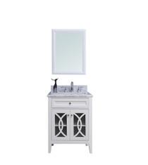 Royal Casa 30 inch  White Bathroom Vanity