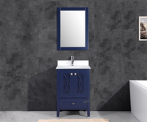 "Florida  30"" Navy Bathroom Vanity"
