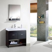 """Grace 36"""" Espresso Bathroom Vanity"""
