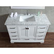 Royal Havana 48 inch White Bathroom Vanity **Now In Stock