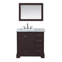 "Columbia 36"" Espresso Bathroom Vanity"