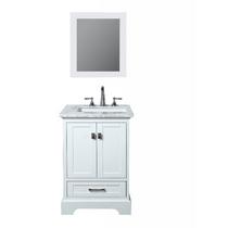 Royal Havana 30 inch White Bathroom Vanity