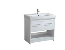 "Grace 36"" White Bathroom Vanity"