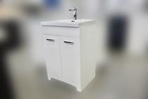 """Venus 24"""" White  Bathroom Vanity with Top *Builder Special"""