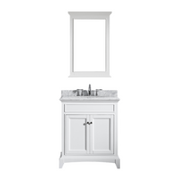 "Boca 36"" White Bathroom Vanity"