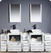 Royal Elsa 95 Inch Bathroom Vanity White