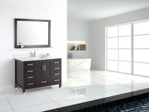 Palmera 48 inch Espresso Bathroom Vanity