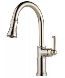 Brizo Artesso 1.8 GPM Single Hole Pull Down Kitchen Faucet - Limited Lifetime Warranty