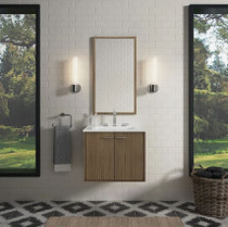 "Kohler Jute 24"" Vanity Cabinet Only - Wall Mounted / Floating Installation Type"