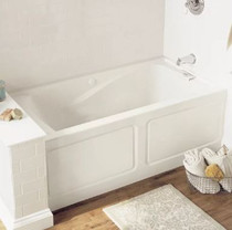 "American Standard Evolution 60"" Acrylic Bathtub with Right or Left Hand Drain and EverClean Technology - Lifetime Warranty"