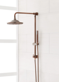 """Signature Hardware 10"""" Bostonian Rainfall Nozzle Shower System with Hand Shower"""