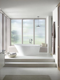 Kohler Composed Floor Mounted Tub Filler with Hand Shower and Built-In Diverter