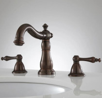 Signature Hardware Enid 1.2 GPM Widespread Bathroom Faucet with Drain Assembly