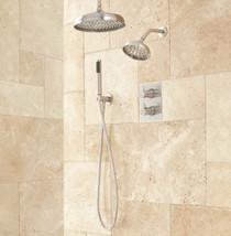 "Signature Hardware Hinson Shower System - 14"" Rainfall, Wall Shower, Hand Shower"