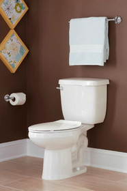 """PROFLO- 1.28 GPF Two-Piece Elongated Toilet with Left Hand Trip Lever and 12"""" Rough In"""