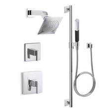 Kohler Loure Rite-Temp Pressure Balanced Shower System with Shower Head and Hand Shower