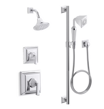 Kohler Memoirs Stately Rite-Temp Pressure Balanced Shower System with Shower Head and Hand Shower